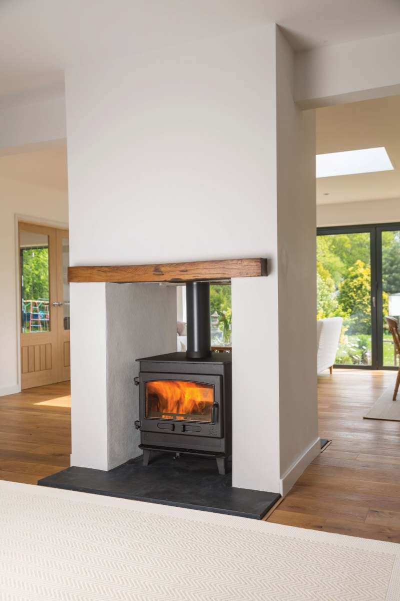 DEAN STOVES - CLEARBURN DOUBLE SIDED | Fireplace and stove ...