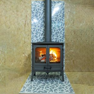 Vlaze – Forest heat shield & hearth plate